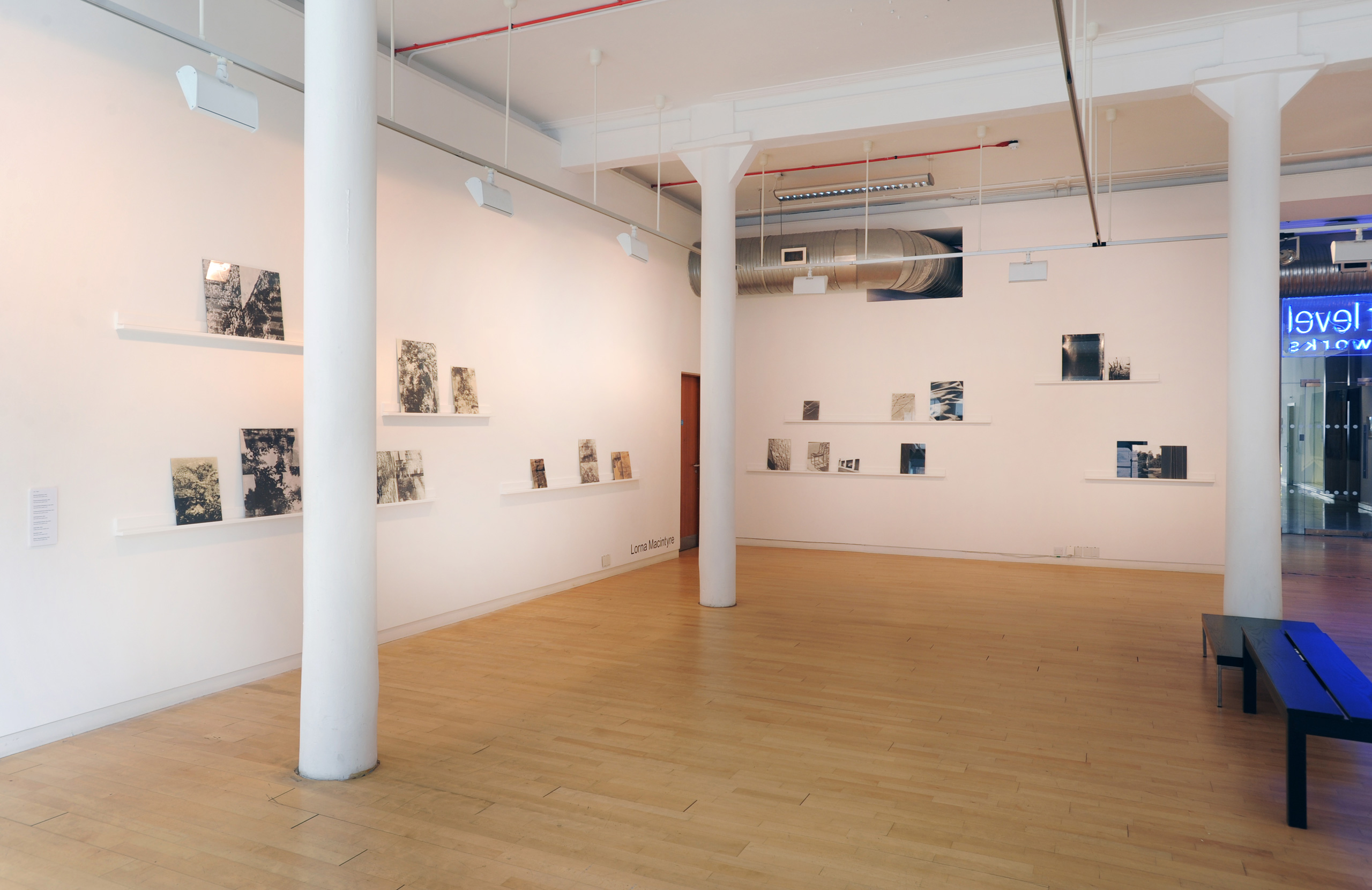 Installation view, Lorna Macintyre