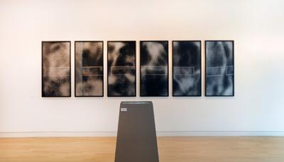 Installation view, Susanne Ramsenthaler