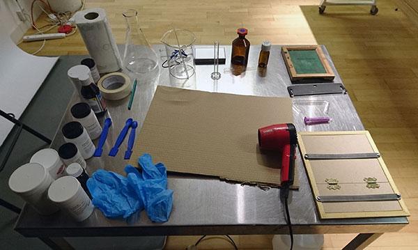 Chemistry set up