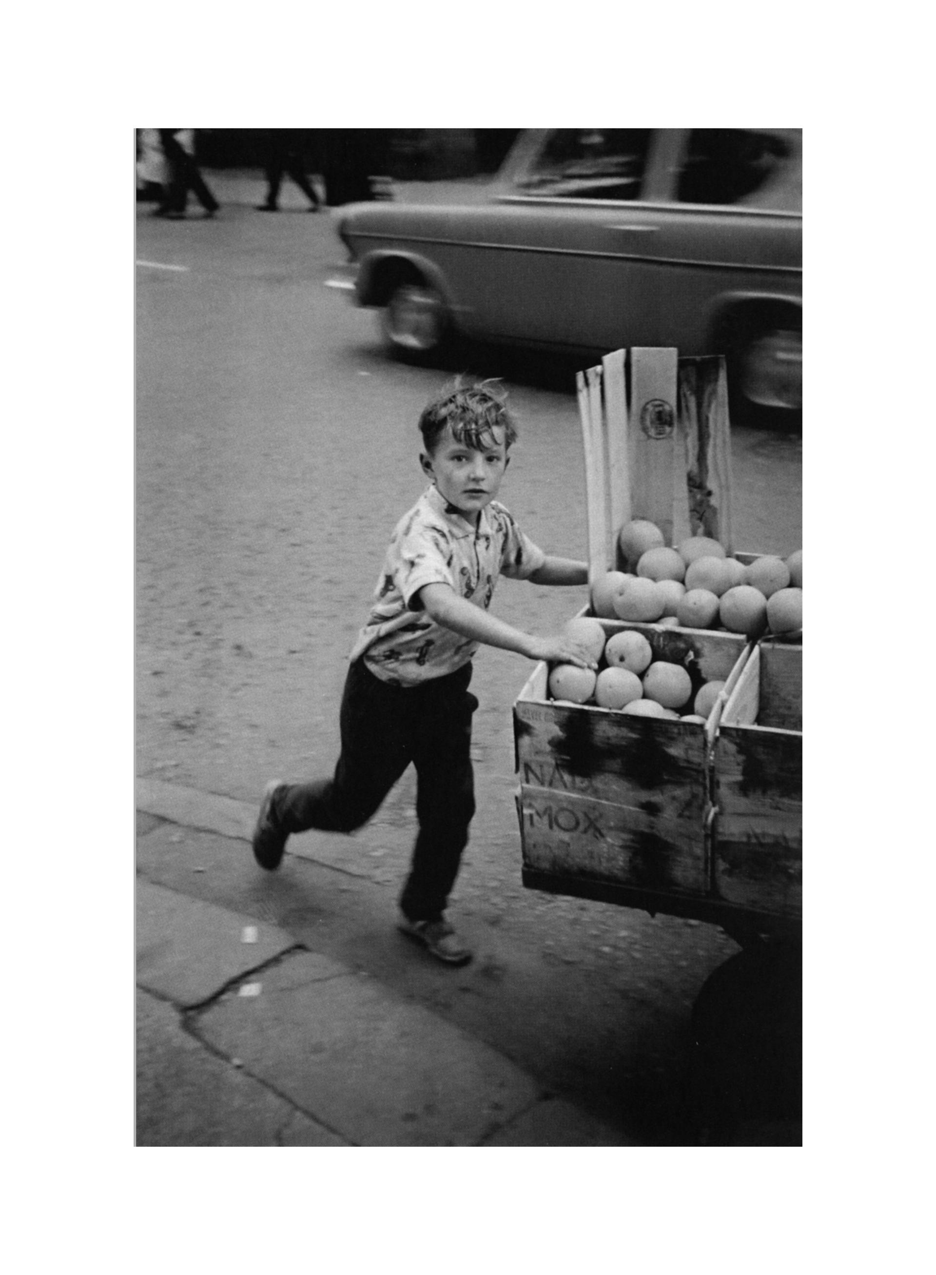 Image of Barra Boy, Glasgow 1968 by David Peat