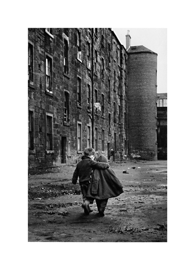 Image of A Comforting Arm, Glasgow 1968 by David Peat