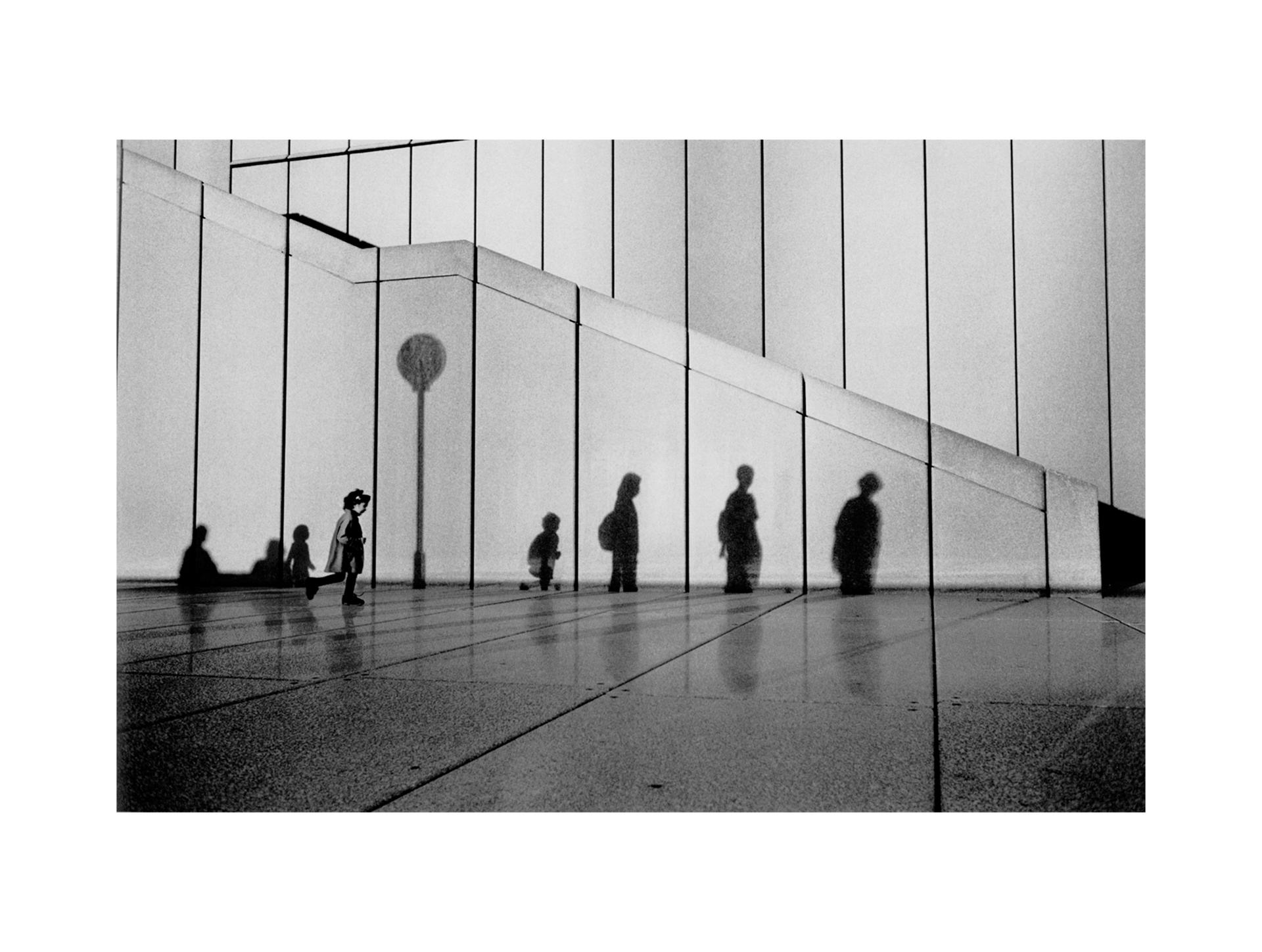 Image of Opera House Shadows, Sydney 2001 by David Peat