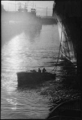 Rope Boat; King George V Dock, Near Braehead.