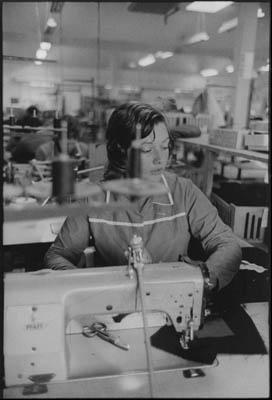 Elizabeth Cook, Pocket Section Machinist; Andrew Douglas Ltd., Campbeltown, Kintyre Peninsula