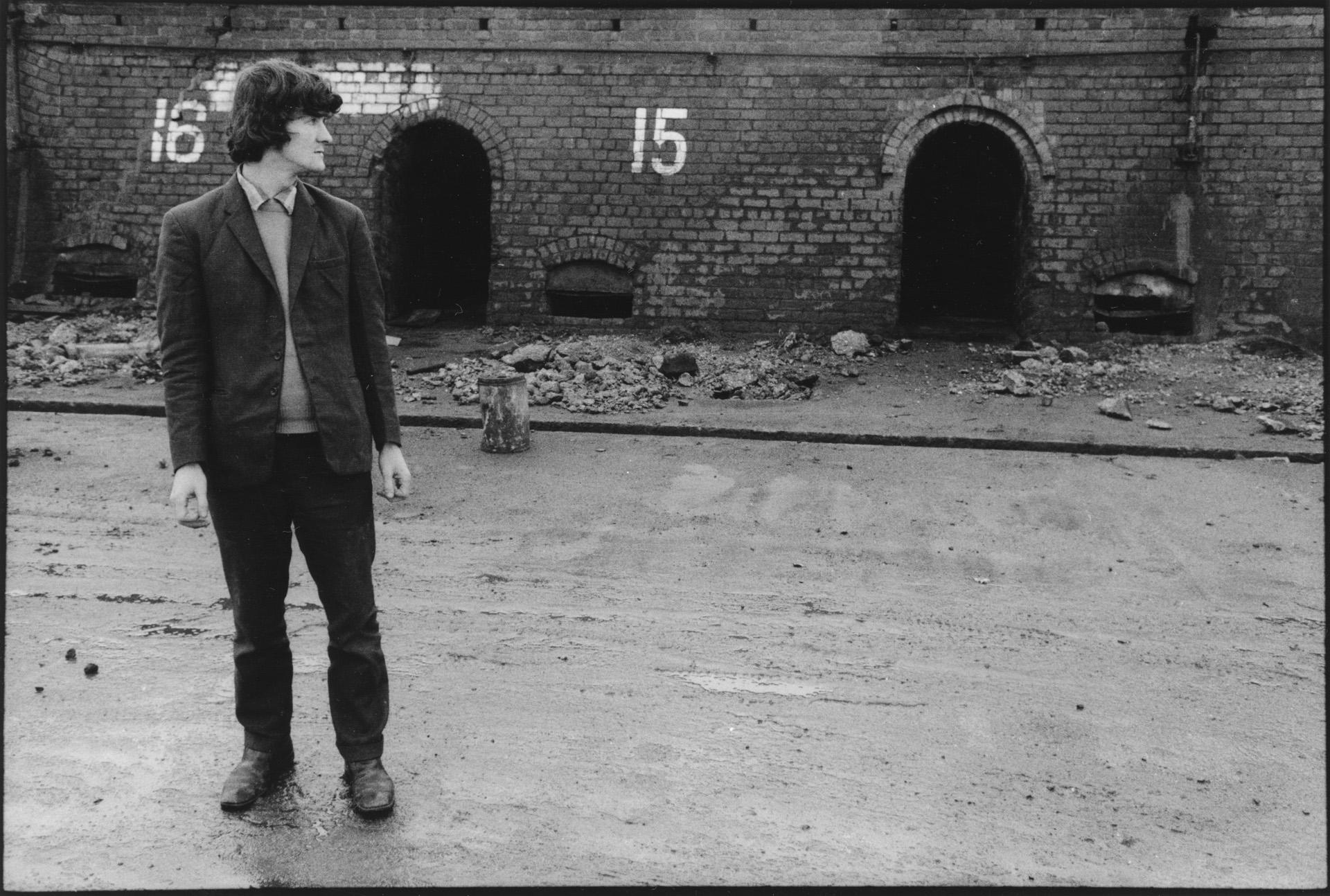 Mr Campbell, Unemployed Brickworker; Closed Walkinshaw Brickworks, Paisley.