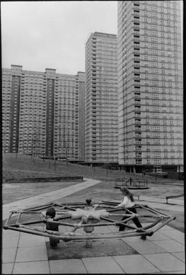 Red Road Flats; Glasgow.