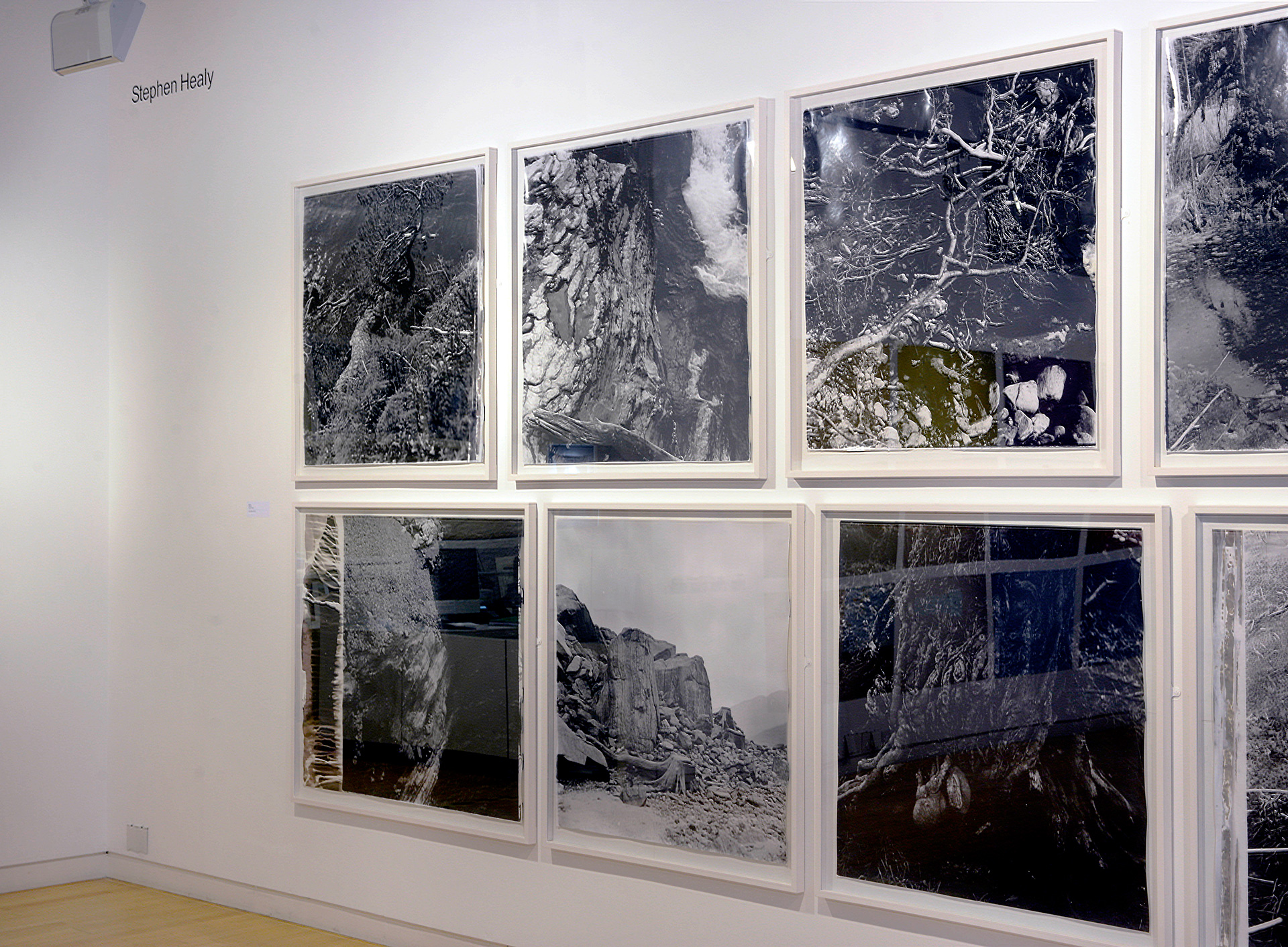 Stephen Healy, Installation view