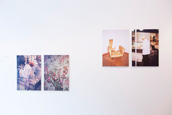 Installation view - Tine Bek
