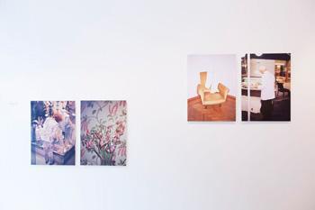Installation view - Tine Bek
