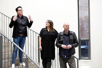New Photographers Guild Mentors: Elaine Livingstone, Claire Stewart & James Pfaff