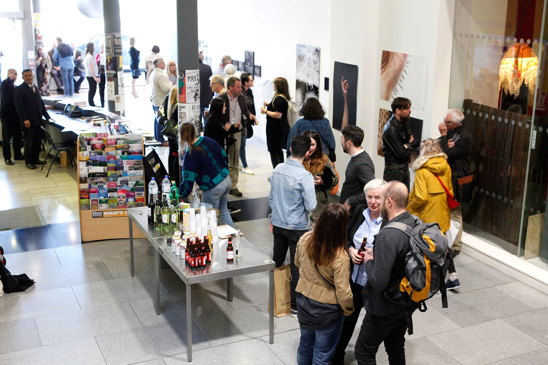 Opening Reception, Trongate 103, 4th May 2017