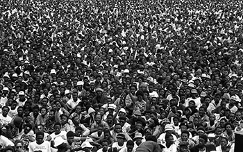 ANC Rally, Sharpesville, 1990