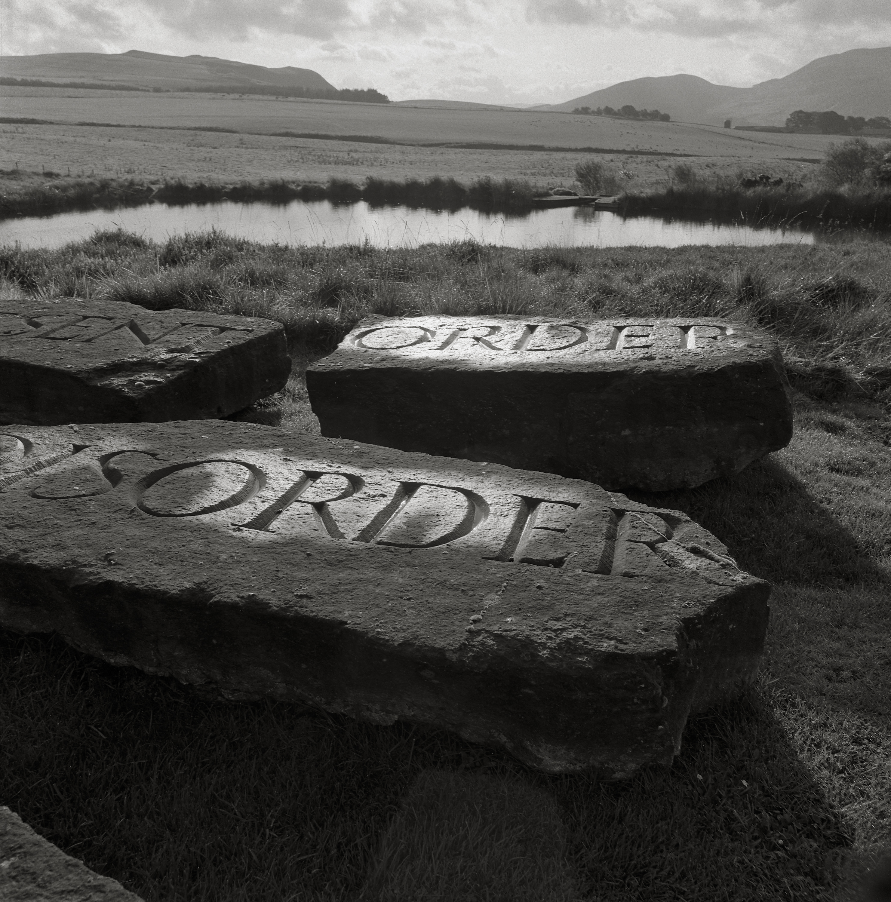Image of The Present Order is the Disorder of the Future (1997) by Robin Gillanders