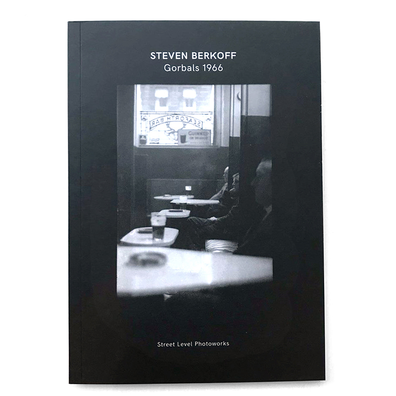 Image of Steven Berkoff - Gorbals 1966 (Book) by Steven Berkoff