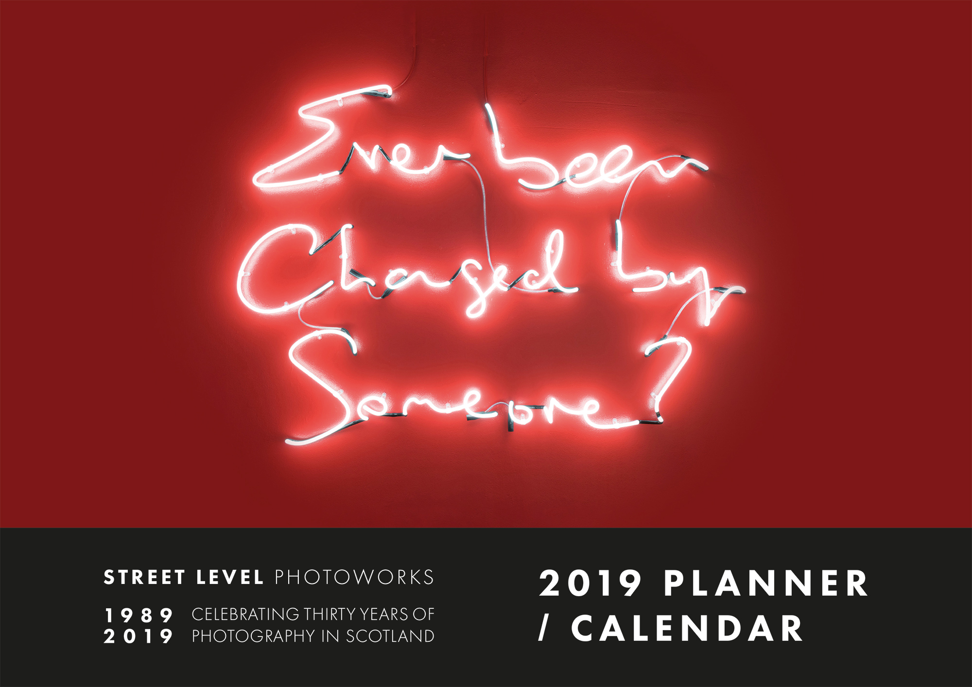 Image of Street Level Photoworks Calendar 2019 by James Pfaff (Cover Image)