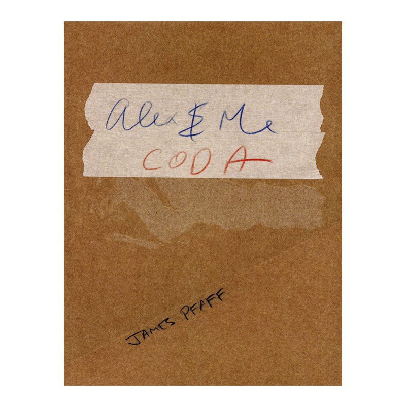 Image of Alex & Me Coda (Book) by James Pfaff