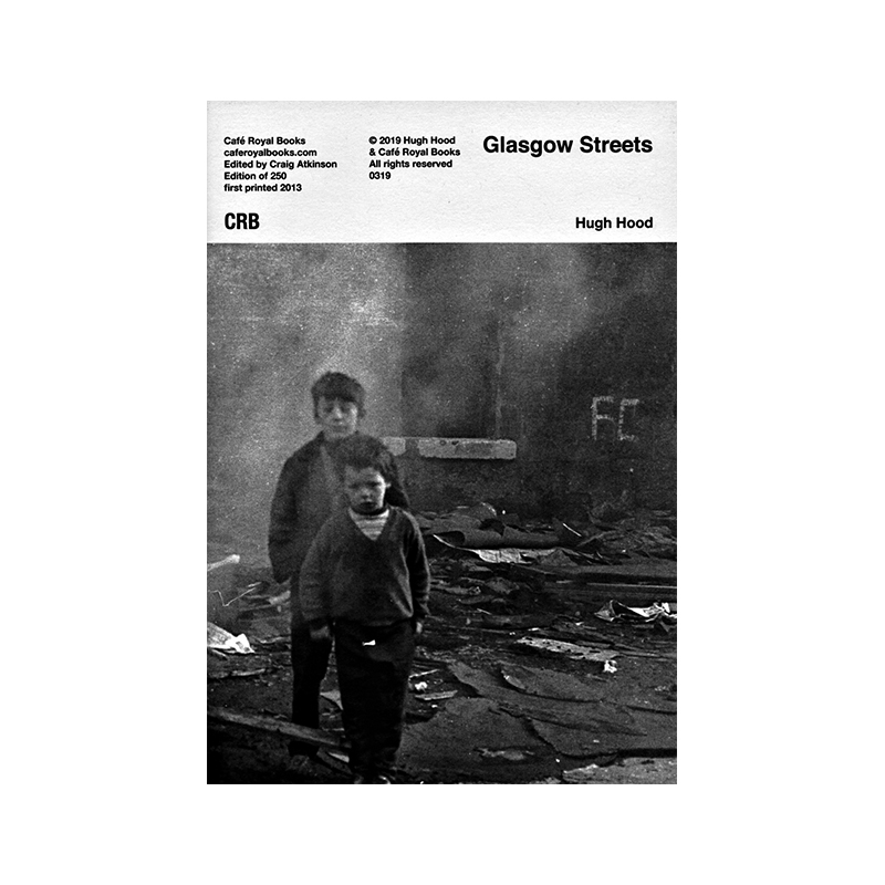 Image of Glasgow Streets (Book) by Hugh Hood