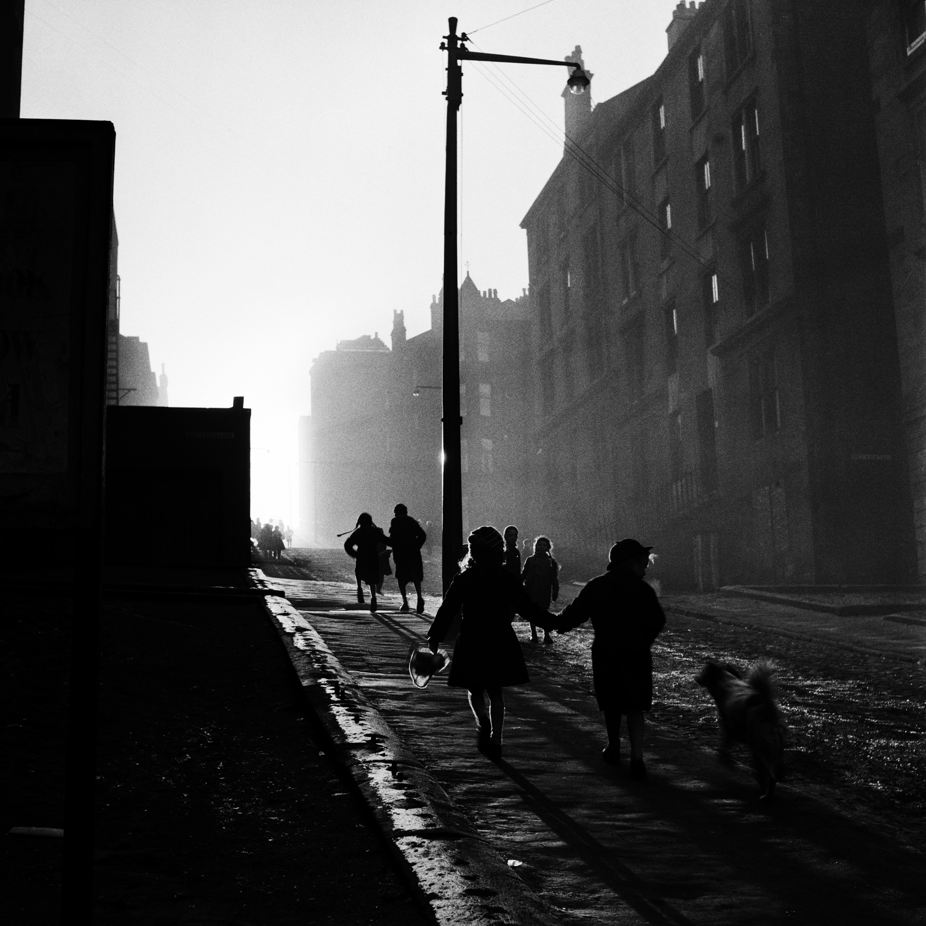 Image of Off to School, Hill Street (1959) by Oscar Marzaroli
