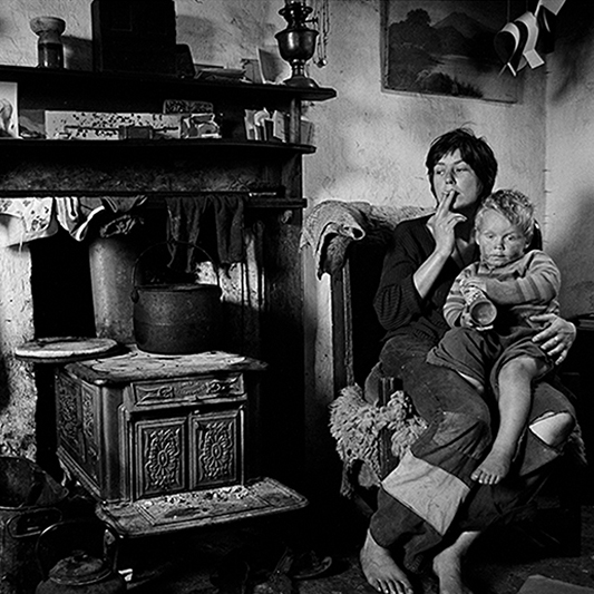 Image of Fay and Son, Incomers to Sanday by Chick Chalmers