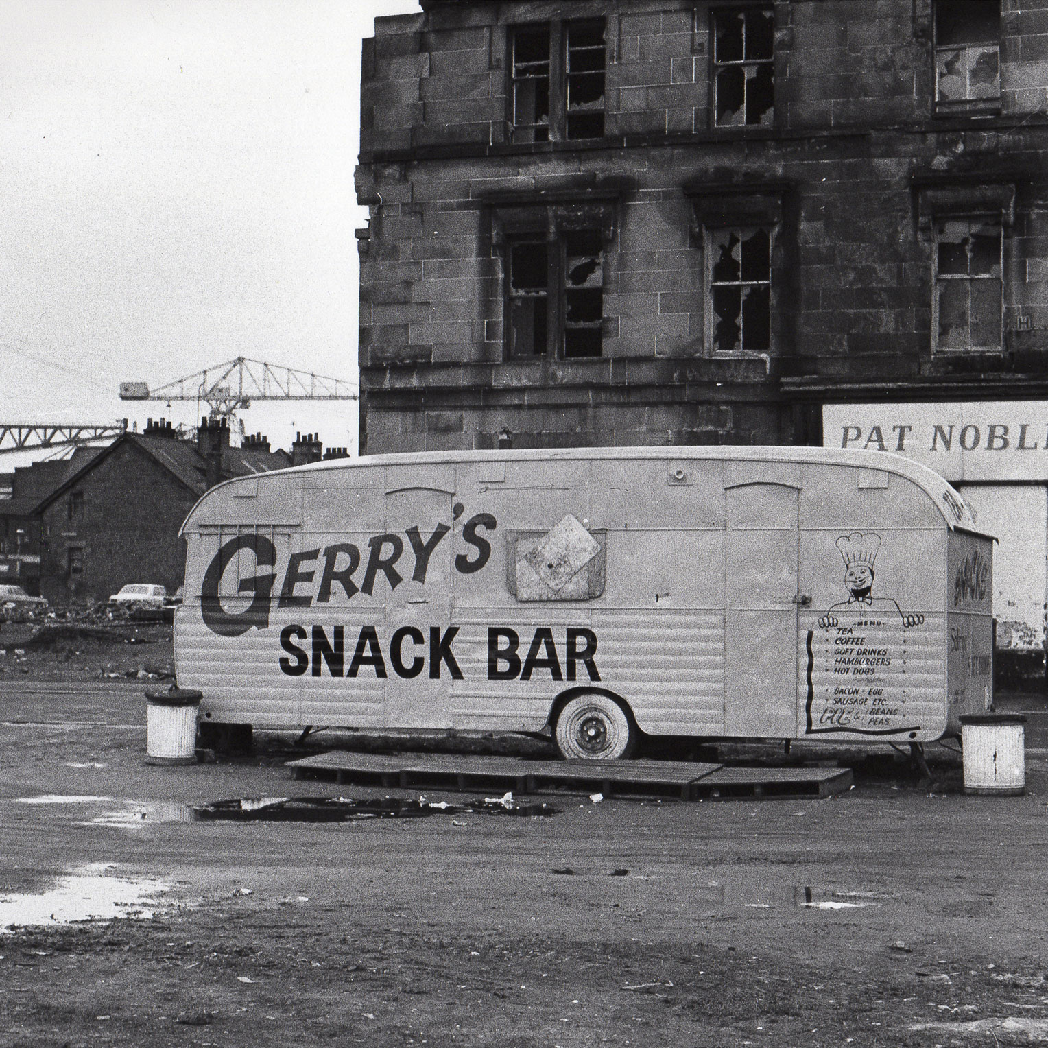 Image of Untitled, from 'Glasgow 1974' (Gerry's Snack Bar) by Hugh Hood