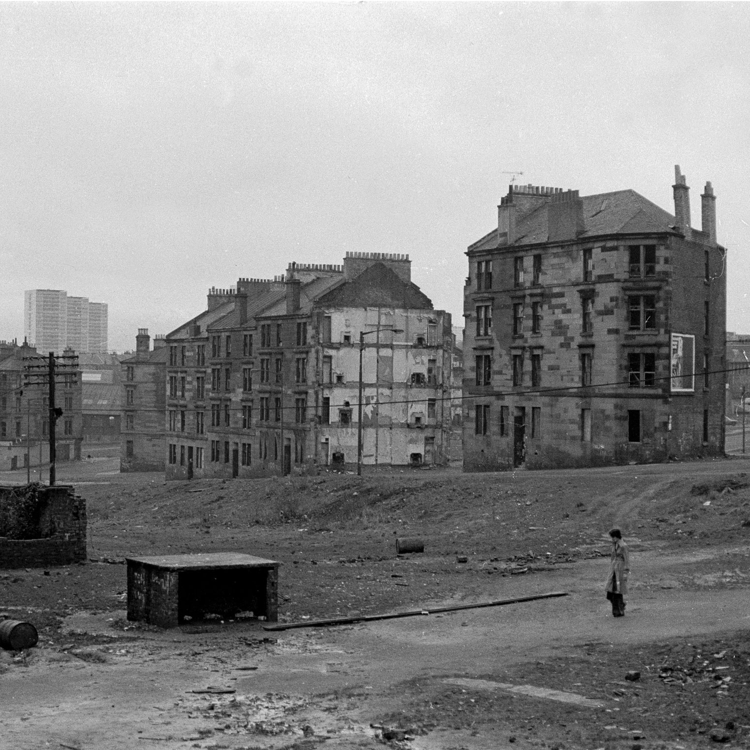 Image of Untitled, from 'Glasgow 1974' (Demolished tenements) by Hugh Hood