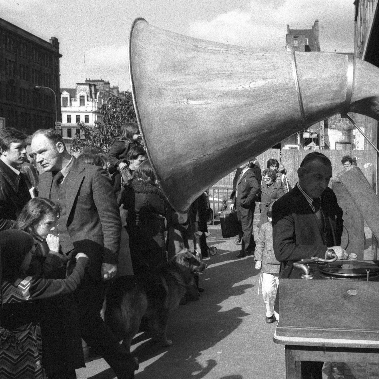 Image of Untitled, from 'Glasgow 1974'  (Gramophone) by Hugh Hood