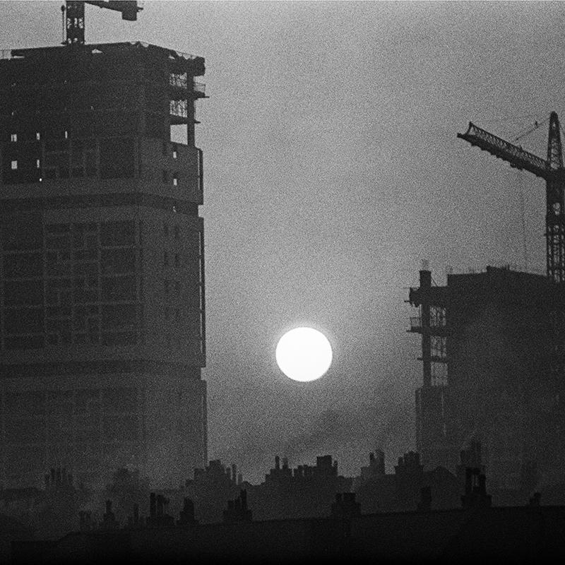 Image of Sunset, Gorbals (1965) by Oscar Marzaroli