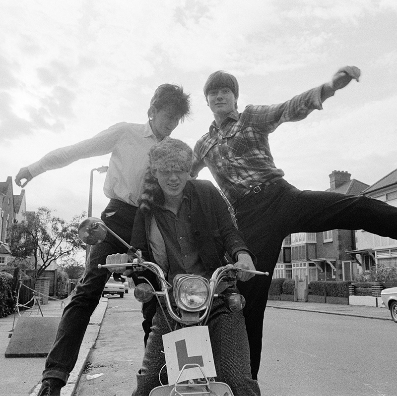 Image of Orange Juice (on moped) by Harry Papadopoulos