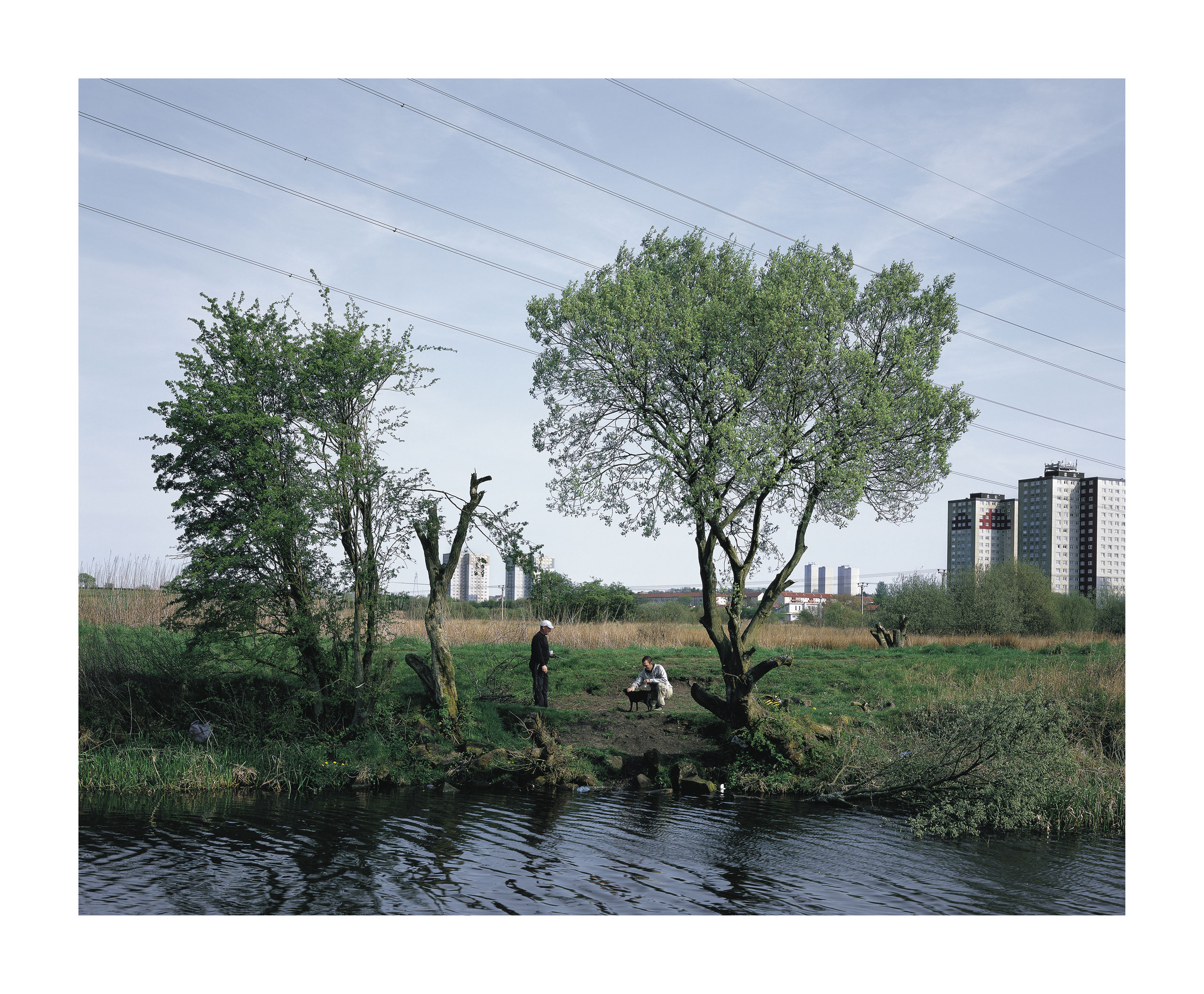Image of Bank, from the series 'Forth and Clyde'  by Martin Hunter