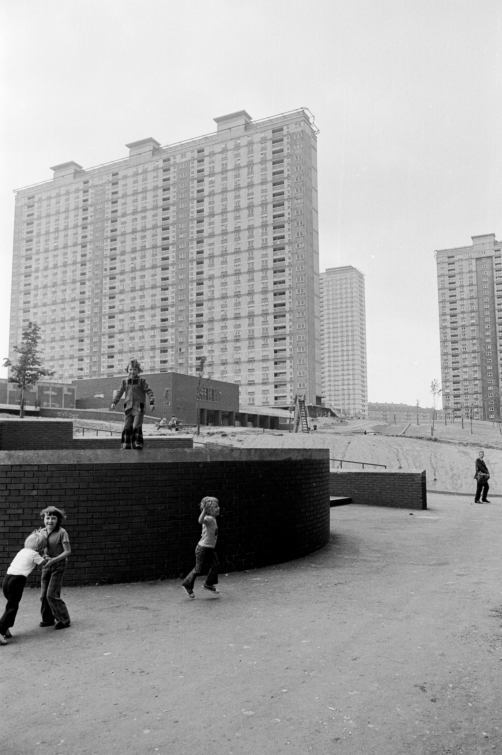 Image of Untitled, from 'Glasgow 1974' (Children playing) by Hugh Hood