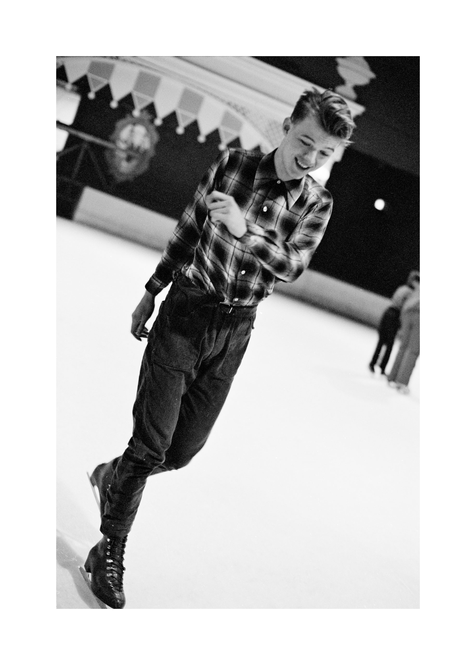 Image of Edwyn Collins (Skating) by HARRY PAPADOPOULOS