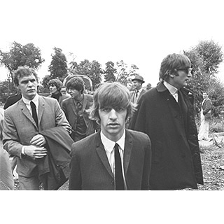 Image of The Beatles by John 'Hoppy' Hopkins