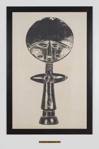 'Abusua Kese / Father' by Maud Sulter, 1992