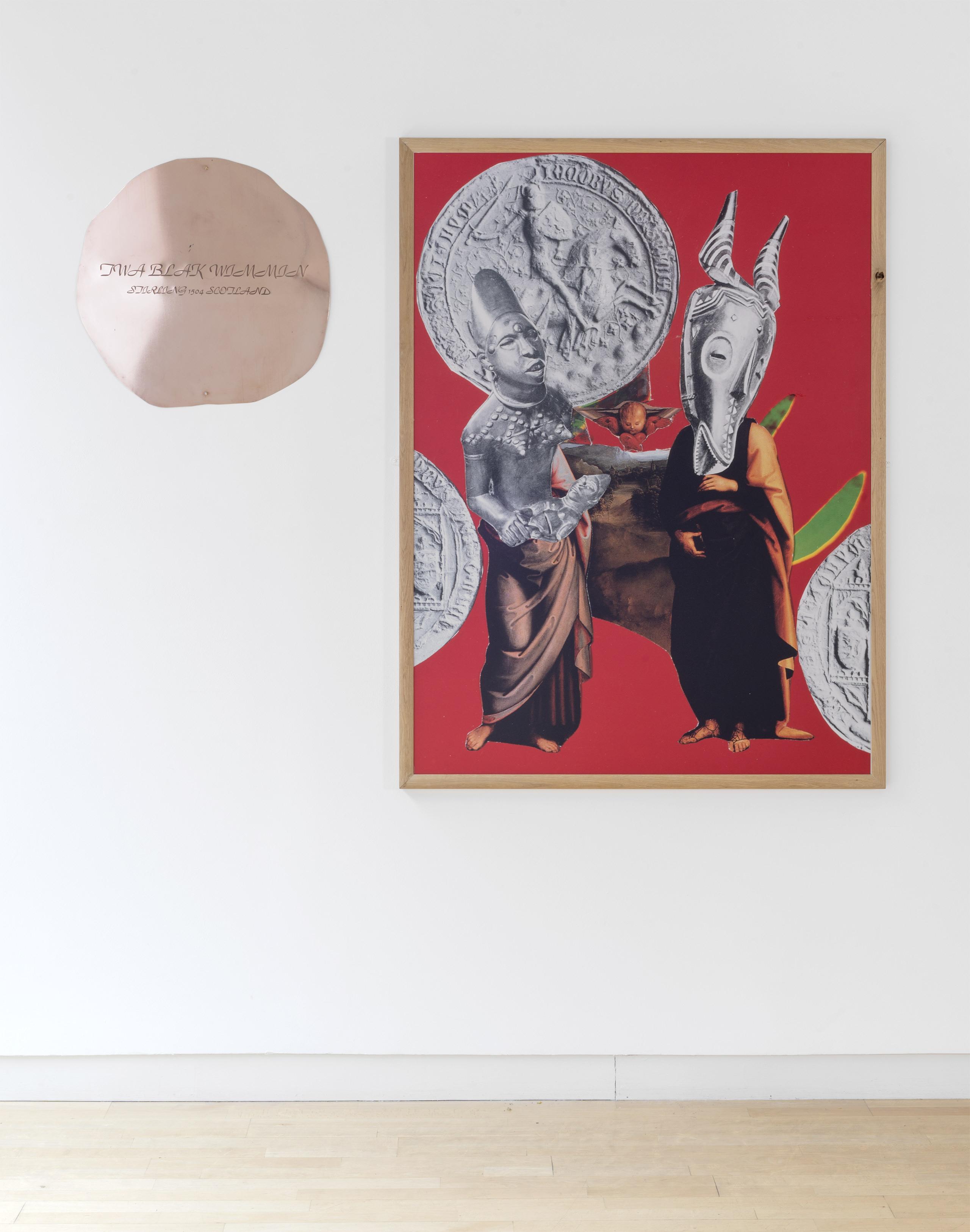 'Twa Blak Wimmin' by Maud Sulter, 1996/7