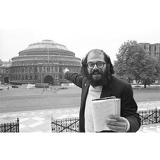 Image of Allen Ginsberg by John 'Hoppy' Hopkins
