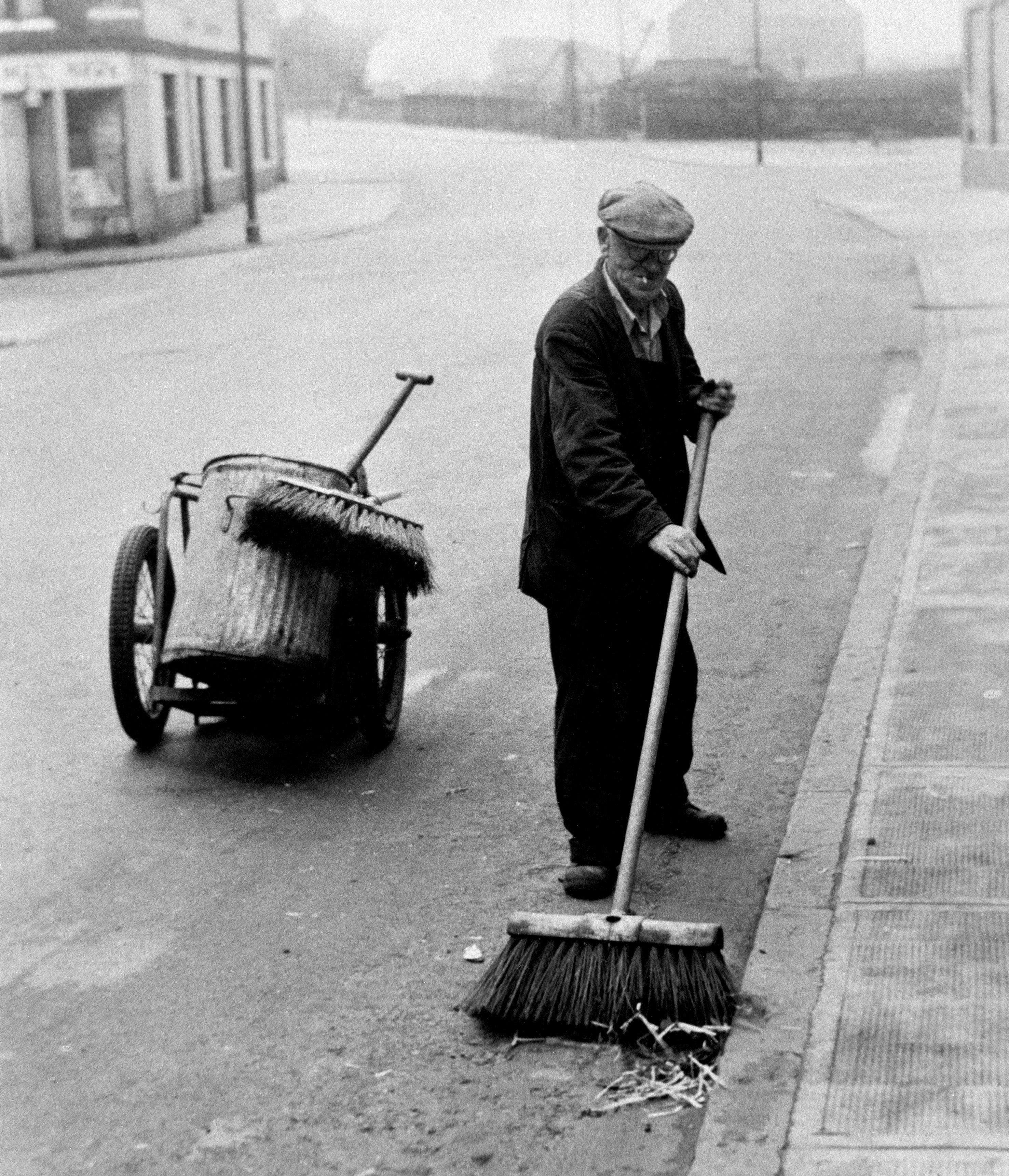 Street Sweeper 1955