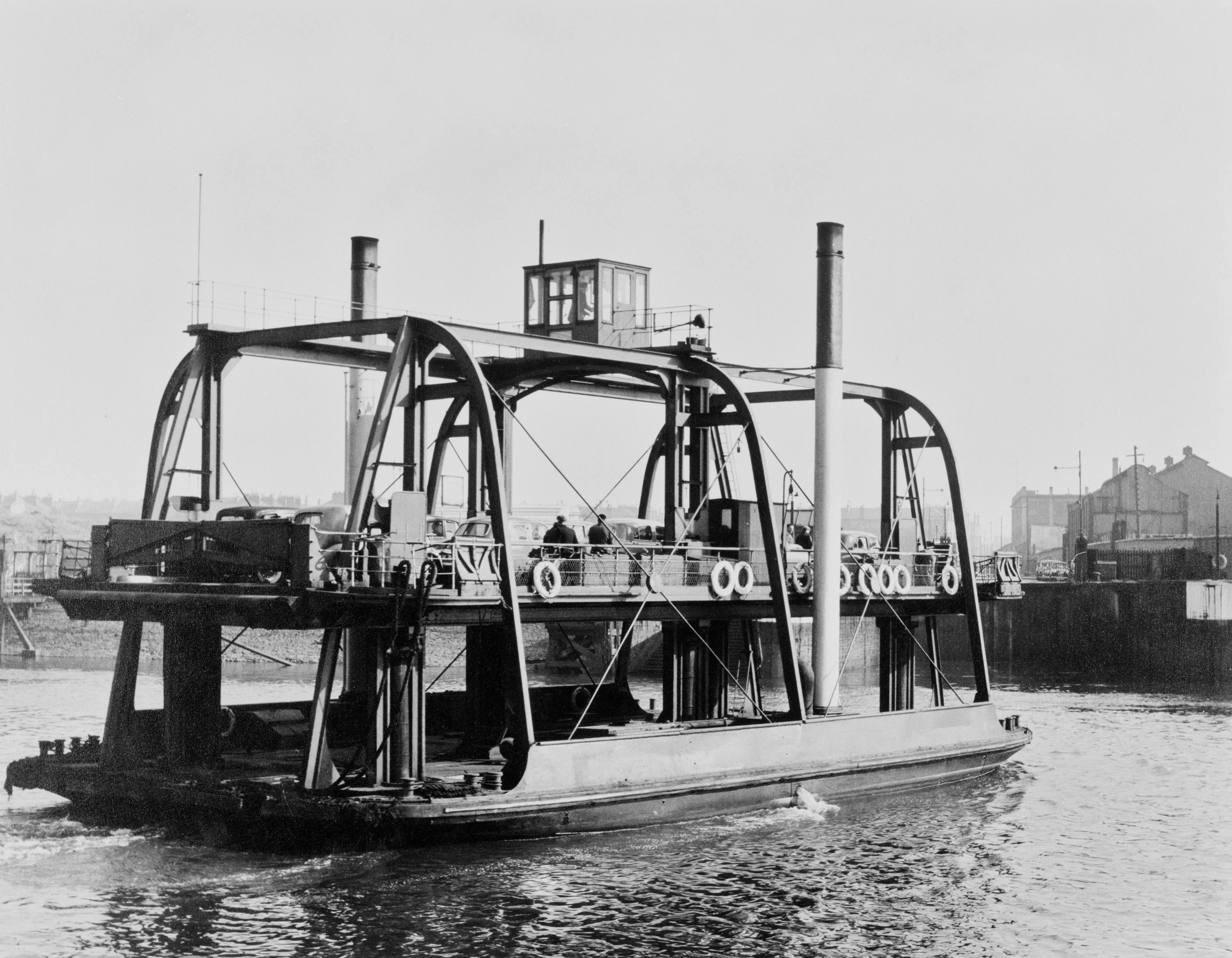 Horse Ferry, 1955