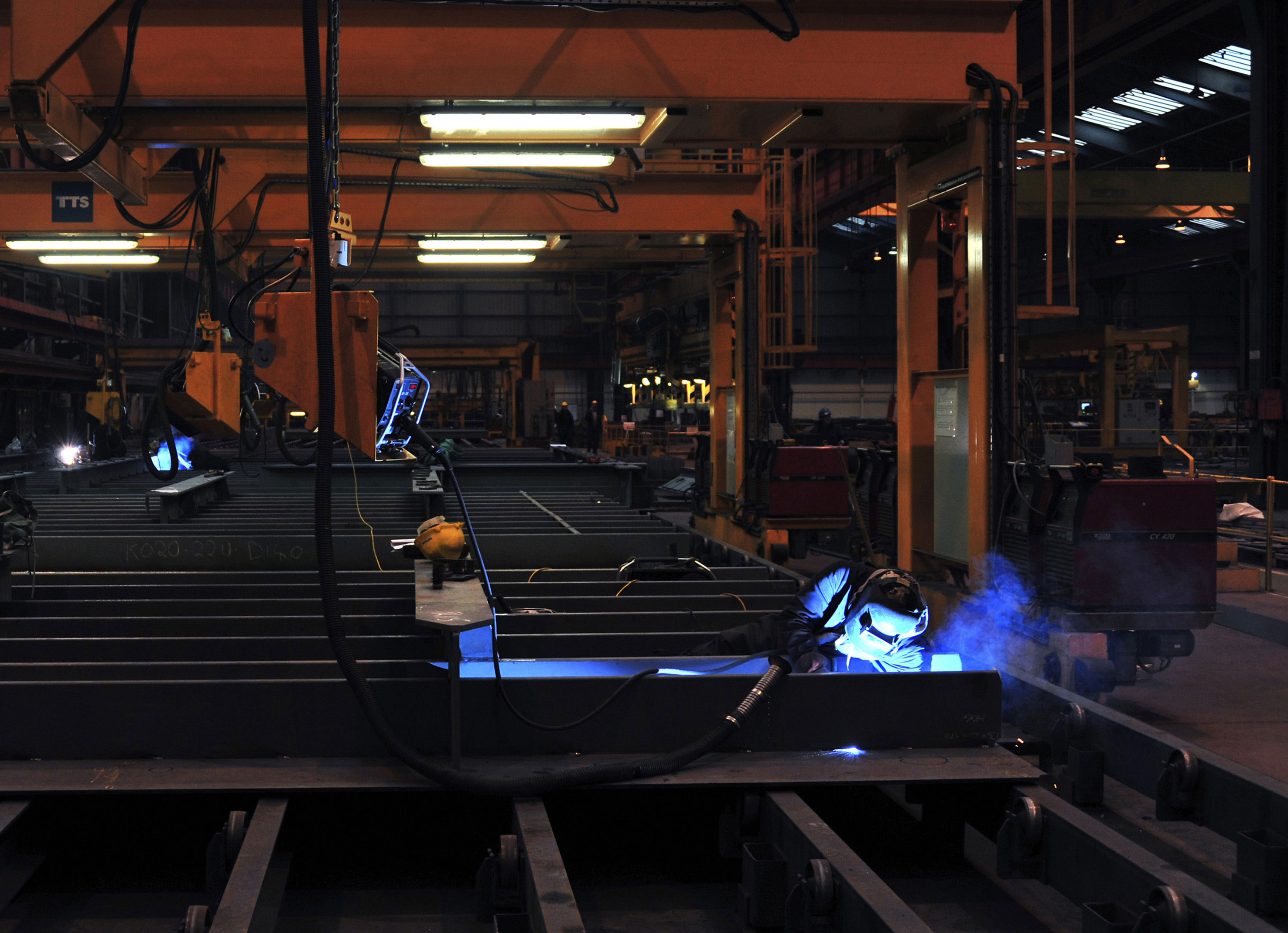 Welder at BAE Systems, Govan