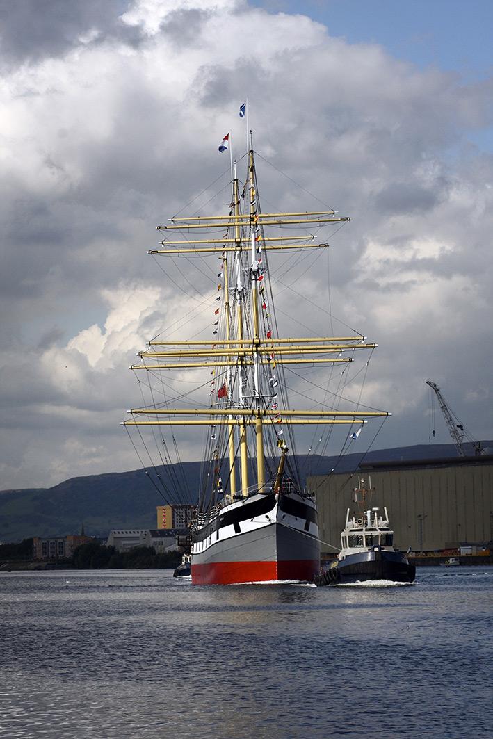 Tall Ship Coming Home