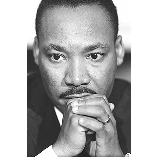 Image of Martin Luther King by John 'Hoppy' Hopkins