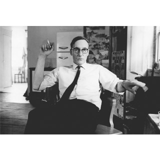 Image of Portrait of William Burroughs by John 'Hoppy' Hopkins