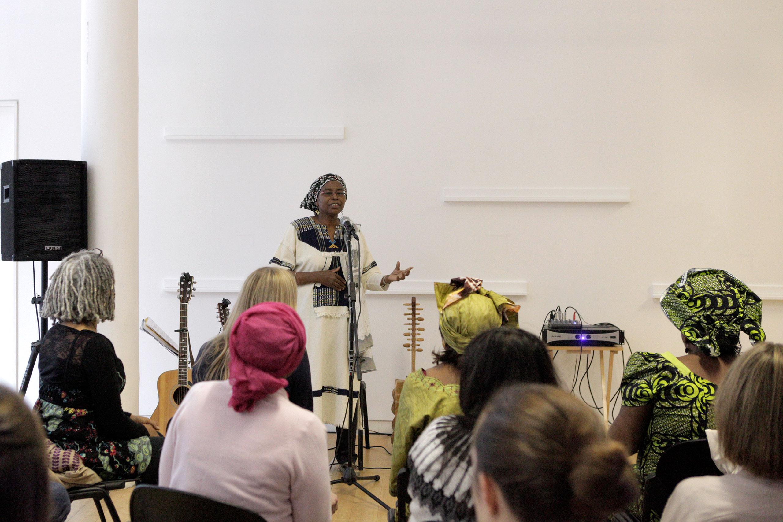 Mukami McCrum, MBE, Community Activist and Feminist